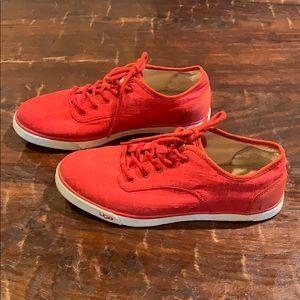 Women's Ugg sneakers tennies comfy walking shoes